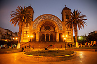 Algeria, Oran The great library ( ex Cathedral)