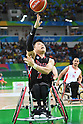 Akira Toyoshima (JPN), <br /> SEPTEMBER 8, 2016 - Wheelchair Basketball : <br /> Preliminary Round Group A<br /> match between Turkey 65-49 Japan<br /> at Carioca Arena 1<br /> during the Rio 2016 Paralympic Games in Rio de Janeiro, Brazil.<br /> (Photo by AFLO SPORT)