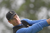 Ryder Cup 206 K Club, Straffin, Ireland...American Ryder Cup team player Jim Furyk on the fairway of the 4th hole during  the  morning fourballs session of the second day of the 2006 Ryder Cup at the K Club in Straffan, Co Kildare, in the Republic of Ireland, 23 September 2006...Photo: Eoin Clarke/ Newsfile.