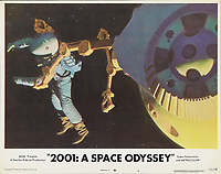 2001: A Space Odyssey (1968) <br /> Lobby card<br /> *Filmstill - Editorial Use Only*<br /> CAP/KFS<br /> Image supplied by Capital Pictures