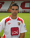 Tim Sills of Stevenage  at the Stevenage FC team photo shoot at The Lamex Stadium, Broadhall Way, Stevenage on Saturday, 24th July, 2010.© Kevin Coleman 2010