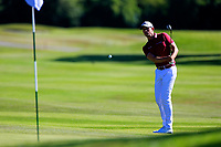 Alexander Bjork (SWE) during the second round of the Lyoness Open powered by Organic+ played at Diamond Country Club, Atzenbrugg, Austria. 8-11 June 2017.<br /> 09/06/2017.<br /> Picture: Golffile | Phil Inglis<br /> <br /> <br /> All photo usage must carry mandatory copyright credit (&copy; Golffile | Phil Inglis)