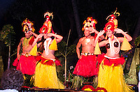 Luau Performance at Westin Resort, Maui, Hawaii, US