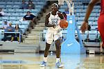 13 November 2015: North Carolina's Destinee Walker. The University of North Carolina Tar Heels hosted the Gardner-Webb University Runnin' Bulldogs at Carmichael Arena in Chapel Hill, North Carolina in a 2015-16 NCAA Division I Women's Basketball game. Gardner-Webb won the game 66-65.