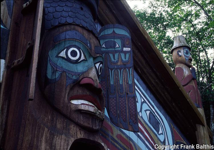 Wandering Raven House, Totem Bight State Park