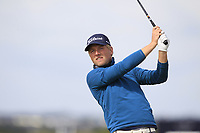 Runar Arnorsson (ICE) on the 5th tee during Round 1 of the The Amateur Championship 2019 at The Island Golf Club, Co. Dublin on Monday 17th June 2019.<br /> Picture:  Thos Caffrey / Golffile<br /> <br /> All photo usage must carry mandatory copyright credit (© Golffile | Thos Caffrey)