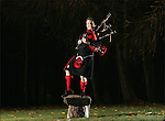 Suart Cassells, of The Red Hot Chillie Pipers