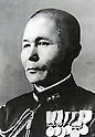 Undated - Jisaburo Ozawa was an admiral in the Imperial Japanese Navy during World War II. He was the last Commander-in-Chief of Combined Fleet. Many military historians regard Ozawa as one of the most capable Japanese flag officers.  (Photo by Kingendai Photo Library/AFLO)