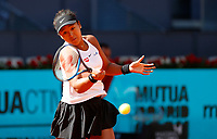 May 2019 Madrid Spain Mutua Madrid Open day 3 .Final Result 6-2 7-6 to Naomi Osaka Naomi Osaka of Japan in her match against Dominika Cibulkova of Slovakia during day three of the Mutua Madrid Open at La Caja Magica on May 05, 2019 in Madrid, Spain. /NortePhoto.com