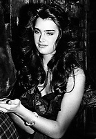 Brooke Shields 1982<br /> Photo By John Barrett/PHOTOlink.net