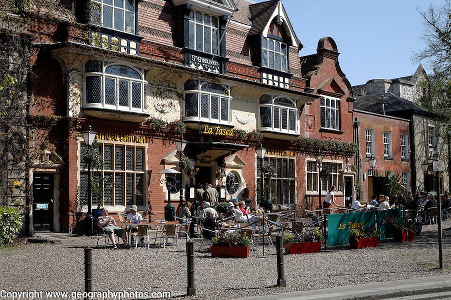 La Tasca restaurant, Tombland, Norwich, England