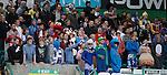 Kilmarnock fans enjoying their day in Glasgow