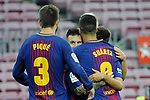 League Santander 2017/2018 - Game: 7.<br /> FC Barcelona vs UD Las Palmas: 3-0.<br /> Pique, Messi &amp; Suarez.