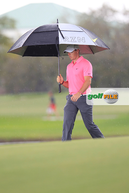 Rory McIlroy (NIR) during the 3rd round at the WGC Cadillac Championship, Blue Monster, Trump National Doral, Doral, Florida, USA<br /> Picture: Fran Caffrey / Golffile