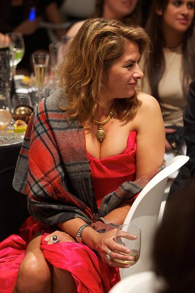 Tracey Emin at Elton John's White Tie and Tiara Ball