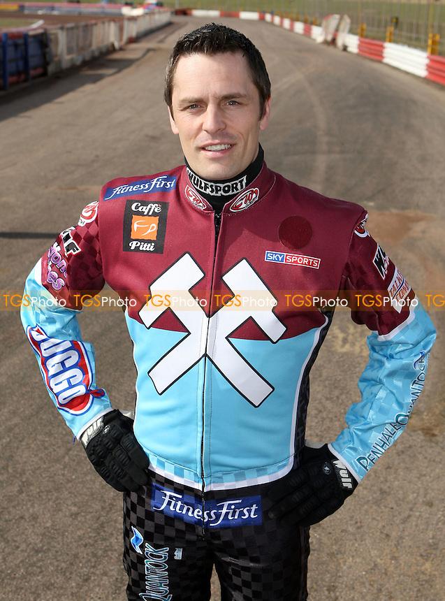 Phil Morris of Lakeside - Lakeside Hammers Press & Practice Day at Arena Essex Raceway -  17/03/09 - MANDATORY CREDIT: Gavin Ellis/TGSPHOTO - Self billing applies where appropriate - Tel: 0845 094 6026