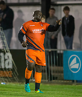 Adebayo Akinfenwa of Wycombe Wanderers during the Pre Season Friendly match between Maidenhead United and Wycombe Wanderers at York Road, Maidenhead, England on 28 July 2017. Photo by Andy Rowland.