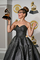 NEW YORK - JANUARY 28: Lisa Loeb poses in the press room at the 60th Annual Grammy Awards at Madison Square Garden on January 28, 2018 in New York City. (Photo by Ben Hider/PictureGroup)