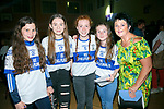 At the Castlisland Desmonds Ladies Club and muire gan smal presentation primary Strictly Come Dancing at the Community Centre Castleisland on Saturday were Mary McBride, Katie Cotter, Aisling Shire, Sophia McGaley, Ellen Barrett