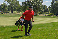 Patrick Reed (USA) heads to 8 during 3rd round of the World Golf Championships - Bridgestone Invitational, at the Firestone Country Club, Akron, Ohio. 8/4/2018.<br /> Picture: Golffile | Ken Murray<br /> <br /> <br /> All photo usage must carry mandatory copyright credit (© Golffile | Ken Murray)