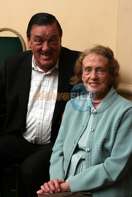 Michael Kelly, Hill of Slane and Marie Meade, Chapel St. at the Irish Night of Dance in the Conyngham Arms Hotel, Slane...Photo NEWSFILE/Jenny Matthews.(Photo credit should read Jenny Matthews/NEWSFILE)....This Picture has been sent you under the condtions enclosed by:.Newsfile Ltd..The Studio,.Millmount Abbey,.Drogheda,.Co Meath..Ireland..Tel: +353(0)41-9871240.Fax: +353(0)41-9871260.GSM: +353(0)86-2500958.email: pictures@newsfile.ie.www.newsfile.ie.FTP: 193.120.102.198.