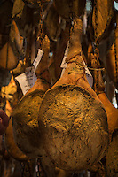 France, Aquitaine, Pyrénées-Atlantiques, Pays Basque, Guiche: Dans le  séchoir aux Jambon Ibaïama -Maison Montauzer [Non destiné à un usage publicitaire - Not intended for an advertising use]:   //  France, Pyrenees Atlantiques, Basque Country, Guiche:  Ibaïama ham, Maison Montauzer