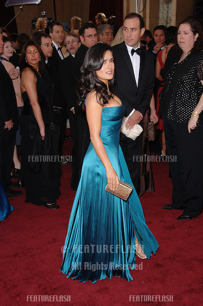SALMA HAYEK at the 78th Annual Academy Awards at the Kodak Theatre in Hollywood..March 5, 2006  Los Angeles, CA.© 2006 Paul Smith / Featureflash