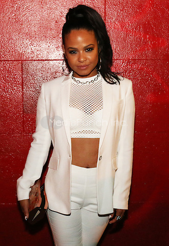 NEW YORK, NY - MAY 16, 2016 Christina Milian attends the GQ Style Magazine launch party at Tropical 128, May 16, 2016 in New York City. Photo Credit: Jamel Johnson / Media Punch