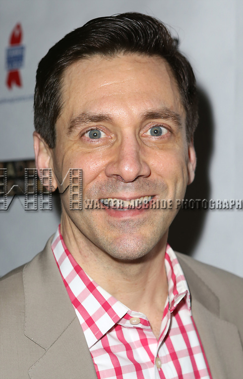 "Michael Berresse attends the ""Broadway Backwards"" After Party Reception  at John's Restaurant on March 24, 2014 in New York City."