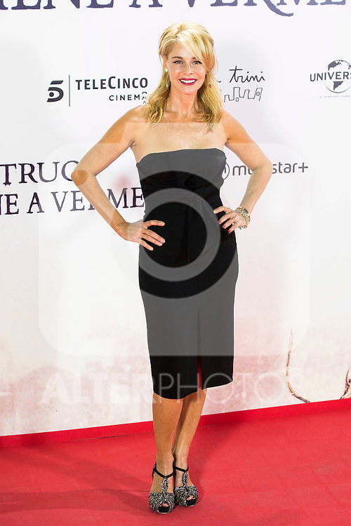 """Belen Rueda during the premiere of the spanish film """"Un Monstruo Viene a Verme"""" of J.A. Bayona at Teatro Real in Madrid. September 26, 2016. (ALTERPHOTOS/Borja B.Hojas)"""