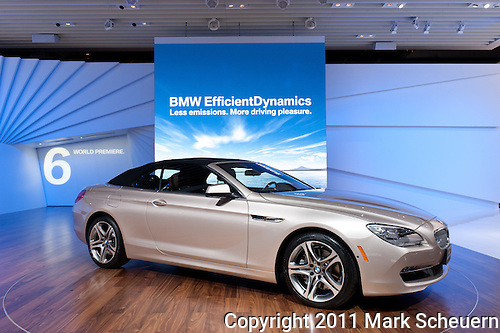 BMW 650i covertible