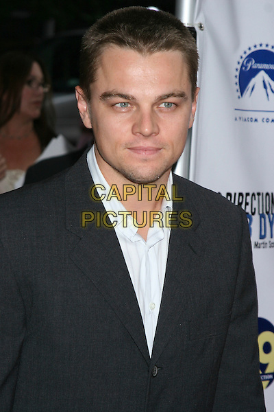 "LEONARDO DICAPRIO.Arrivals At ""no Direction Home: Bob Dylan"" Premiere held at the Ziegfeld Theatre,.New York, 19th September 2005 .portrait headshot stubble.Ref: IW.www.capitalpictures.com.sales@capitalpictures.com.©Capital Pictures"