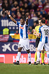 Papakouli Diop of RCD Espanyol reacts during the La Liga match between Atletico de Madrid and RCD Espanyol at the Vicente Calderón Stadium on 03 November 2016 in Madrid, Spain. Photo by Diego Gonzalez Souto / Power Sport Images