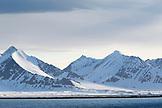 SVALBARD, Longyearban, Arctic Landscape