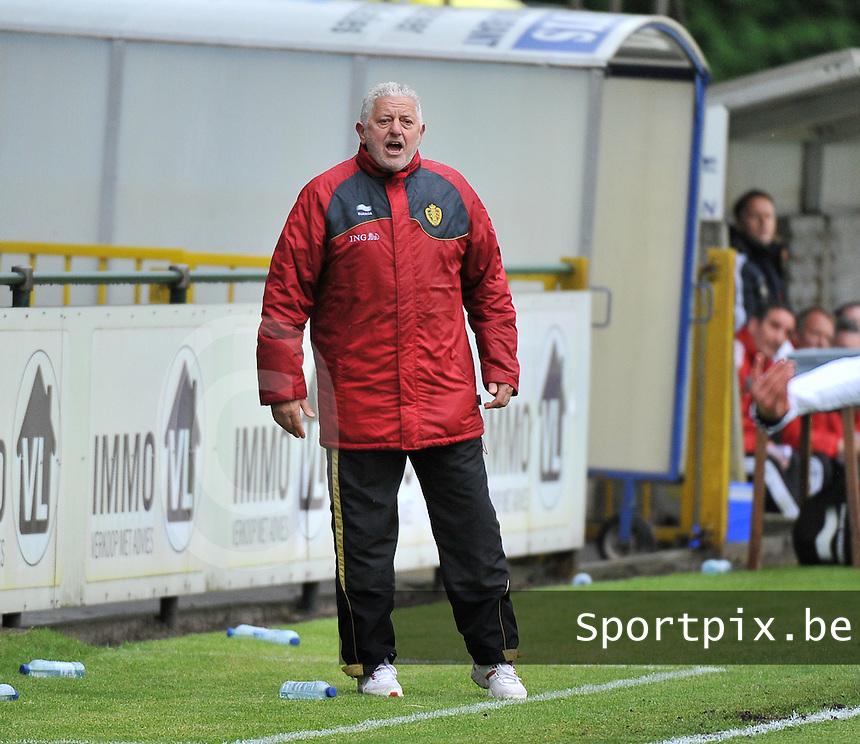 Scotland U19 - Belgium U19 : Marc Van Geersom.foto DAVID CATRY / Nikonpro.be