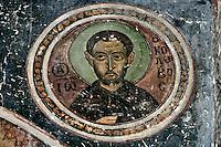 Ioannis Kolovos,wall-painting,South-west chapel,Katholikon Church of St. Luke,11th Century,Osios Loukas Monastery,Greece