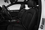 Front seat view of 2017 Audi A3  Premium  4 Door Sedan front seat car photos