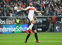Gonzalo Castro (VfB Stuttgart) - 31.03.2019: Eintracht Frankfurt vs. VfB Stuttgart, Commerzbank Arena, DISCLAIMER: DFL regulations prohibit any use of photographs as image sequences and/or quasi-video.