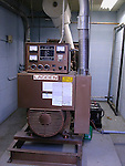 Emergency electrical generator at hospital<br />