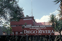 Diego Rivera and Frida Kahlo Studio Museum in San Angel, Mexico City