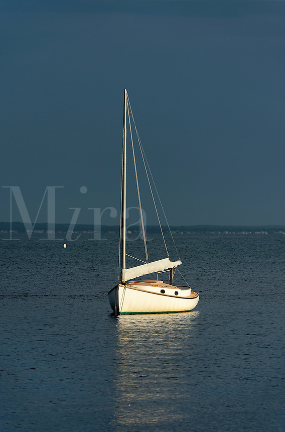 Moody sailboat, Martha's Vineyard, Massachusetts, USA