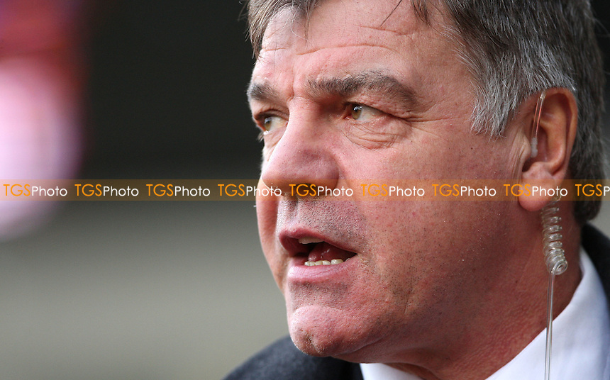 West Ham manager Sam Allardyce - West Ham United vs Nottingham Forest, npower Championship at Upton Park, West Ham - 21/01/12- MANDATORY CREDIT: Rob Newell/TGSPHOTO - Self billing applies where appropriate - 0845 094 6026 - contact@tgsphoto.co.uk - NO UNPAID USE.