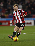 Mark Duffy of Sheffield United during the English Football League One match at Bramall Lane, Sheffield. Picture date: November 29th, 2016. Pic Jamie Tyerman/Sportimage