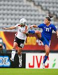 Linda Bresonik, Marta Carissimi, QF, Germany-Italy, Women's EURO 2009 in Finland, 09042009, Lahti Stadium.