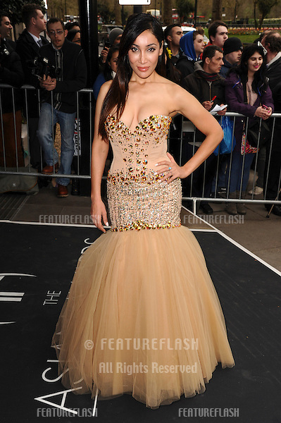 Sofia Hyatt arrives for The Asian Awards 2014 at the Grosvenor House Hotel, London. 04/04/2014 Picture by: Steve Vas / Featureflash