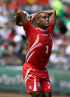 05 July 2009:  Luis Moreno of Panama in action during the game against Guadeloupe at Oakland-Alameda County Coliseum in Oakland, California.   Guadeloupe defeated Panama, 2-0.
