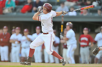 1 June 2008:  Stanford Cardinal Cord Phelps (16) during Stanford's 13-1 win over the Pepperdine Waves in game 6 of the NCAA Stanford Regional at Klein Field at Sunken Diamond in Stanford, CA.