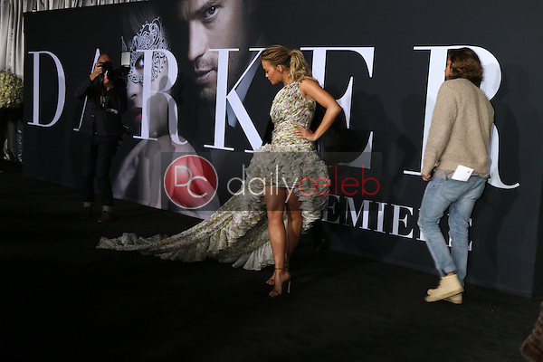 """Rita Ora<br /> at the """"Fifty Shades Darker"""" World Premiere, The Theater at Ace Hotel, Los Angeles, CA 02-02-17<br /> David Edwards/DailyCeleb.com 818-249-4998"""