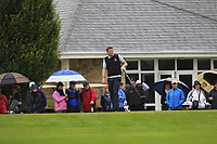Matthew Grehan (Tullamore) on the 1st tee during the Final round of the Irish Mixed Foursomes Leinster Final at Millicent Golf Club, Clane, Co. Kildare. 06/08/2017<br /> Picture: Golffile | Thos Caffrey<br /> <br /> <br /> All photo usage must carry mandatory copyright credit      (&copy; Golffile | Thos Caffrey)