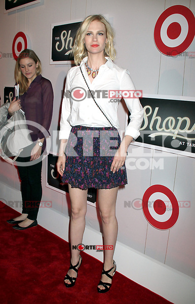 May 01, 2012 January Jonesattends the Launch of the Shops at Target at the IAC Building in New York City. Credit: RW/MediaPunch Inc. NORTEPHOTO.COM<br /> **SOLO*VENTA*EN*MEXICO**